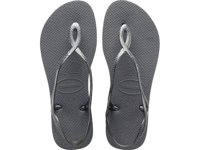 havaianas Luna Sandaalit Naiset, steel grey